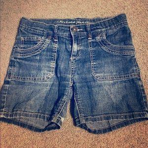 Other - Arizona Jean Girls Denim Shorts Size 12